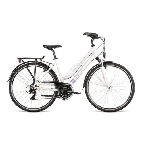 "Dema Arosa Lady 1 Városi / Túra kerékpár (White Violet) 18"" 2020"