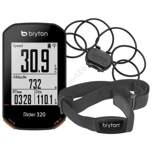 BRYTON RIDER 320T GPS komputer szett (+HRM és CAD szenzor)