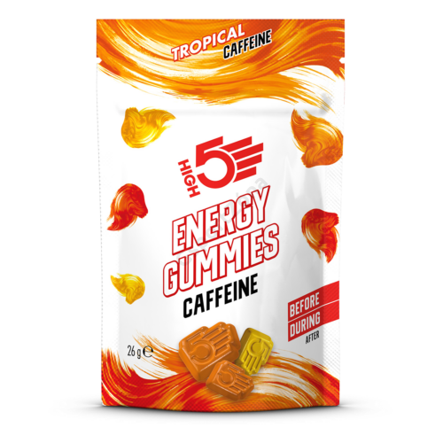 High5 Energy Gumicukor Tropical 26g (6db) Coffeines