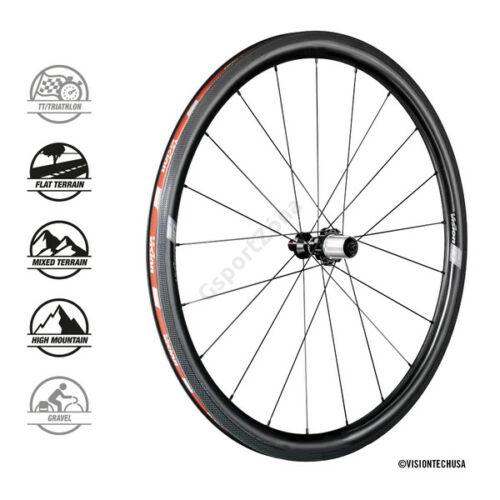 Vision SC 40 országúti kerékszett Clincher, Shimano, Tubeless Ready